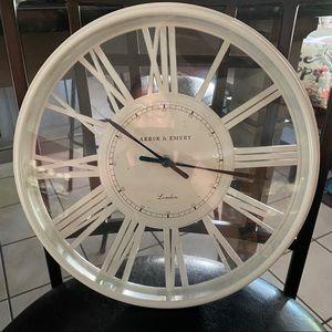 Arbor & Emery wall clock
